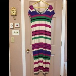 Tommy Hilfiger, colorful maxi dress size XL